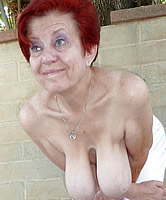 Alte Oma Brüste
