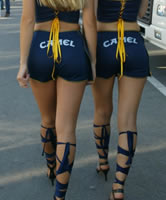 Sexy Event und geile Grid Girls