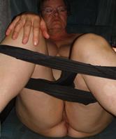 fett oma nackt