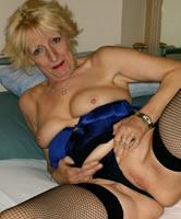 40 Jahre alte Milf Blondine