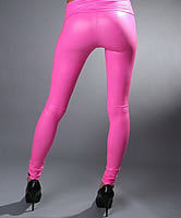 Pink-Leggings Arsch