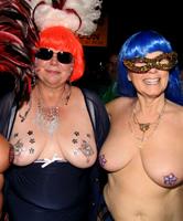 Sex Party mit den verruchten Oma Schlampen