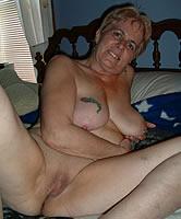 Rasierte Oma
